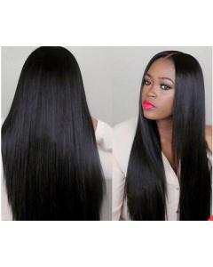 Straight Closure Wig